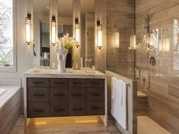 flooring with white bathroom cabinets modern master bathroom