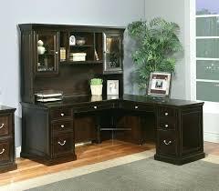 l computer desk with hutch bush series c l shaped desk bundle w