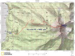 Mt Hood Trail Map Maps And Gps Tracks U2013 Nw Adventures Maps U0026 Gps Tracks