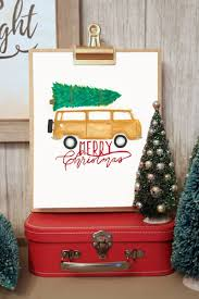 christmas jeep silhouette christmas bronco and camper van silhouette cut file fynes
