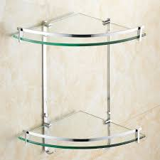 Glass Bathroom Corner Shelves Amazing Corner Stand For Bathroom Ideas The Best Bathroom Ideas