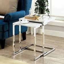 marble top nesting tables white marble top coffee table visualizeus