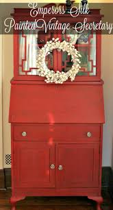 Annie Sloan Painted Bookcase Painted Furniture Vintage Secretary With Fretwork New House New