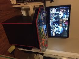 4 player pedestal diy arcade sean figg