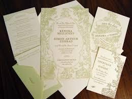 paper passionista invitations green weddings
