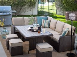 Hampton Bay Belleville 7 Piece Patio Dining Set - patio 63 11 piece grade a teak dining set oval table outdoor