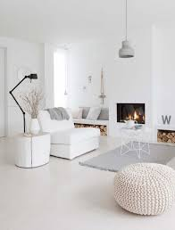 best 25 white interiors ideas on large ottoman
