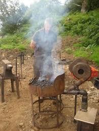 Backyard Blacksmithing Blacksmith Shop Appalachian Culture Pinterest Blacksmith