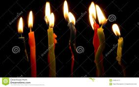 color candles burning timelapse stock video video 34887472