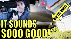 lexus is200 parts melbourne lexus is200 custom exhaust dynomax drone free muffler test youtube