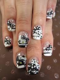 50 hello kitty nail designs hello kitty nails and kitty nails