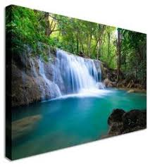 Landscape Canvas Prints by Tree In Lake Reflection By Landscape Art Canvas Prints Canvas Art