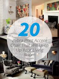 Zebra Accent Chair 20 Zebra Print Accent Chair That Will Liven Up Your Living Room