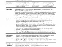 free resume builder for military military to civilian resumes