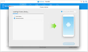 itunes on android a guide to transfer from itunes to android dr fone