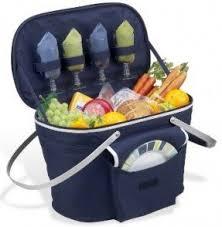 picnic basket set for 4 insulated picnic basket for 4 foter