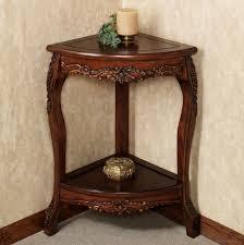 Antique Accent Table Home Design Attractive Wooden Corner Table Designs Antique