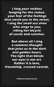 The Light That Blinds Best 25 Lorca Poems Ideas On Pinterest Federico Garcia Lorca