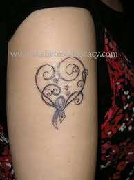 pictures of diabetes ribbon tattoos diabetesadvocacy tattoos