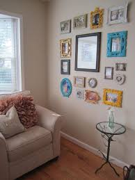diy picture frame wall house to home blog