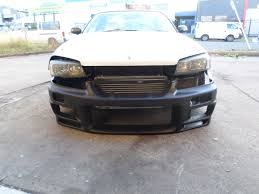 wrecking nissan skyline r33 gtst 1995 lots parts manual with r34