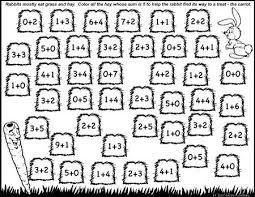 number bonds to 5 free math worksheets coloring worksheets