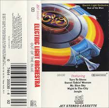 electric light orchestra out of the blue cassette album electric light orchestra out of the blue jet usa
