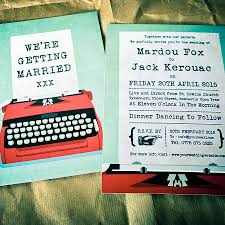 wedding invitations newcastle typewriter wedding invitations yourweek 15d8b9eca25e