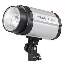 photography strobe lights for sale amazon com neewer 250w studio flash strobe modeling light great
