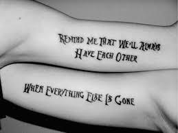 best tattoos for bffs