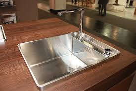 steel art sink and retractable faucet by blanco sink will make it