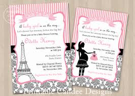 baby shower invitations paris baby shower invitations free