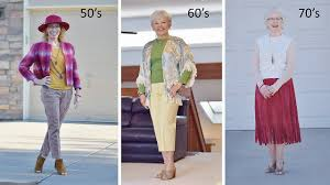 what is in style for a 70 year old woman fringe styled on different clothing items for women