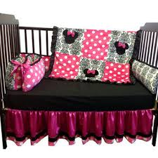 Crib Bedding Set Minnie Mouse Minnie Mouse Crib Bedding Set Regular From Babytwin On Etsy