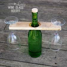 outdoor wine glass holder table outdoor wine glass bottle holder outdoor designs