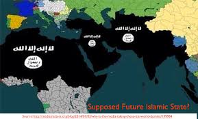 united states of islam map 2016 future islamic state mapping and computer cartography