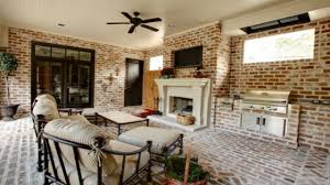 Living Room Design Brick Wall Fall Porch Decorating Ideas A Pretty Life In The Suburbs Home