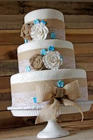 burlap and lace wedding cakes idea in 2017 bella wedding