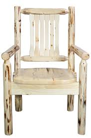 Unfinished Dining Chairs Montana Captain U0027s Chair Unfinished