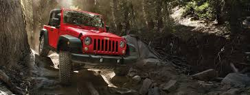 2017 jeep wrangler road and trail capable suv