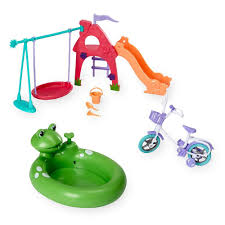 amazon com happy together doll backyard fun playset toys u0026 games