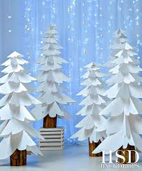 christmas photography backdrops white paper trees photography backdrop christmas photo props