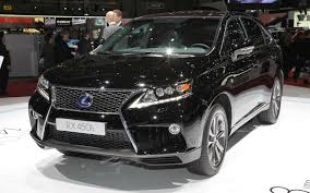 lexus rx 350 review motor trend 2013 lexus rx 350 and rx 450h first look 2012 geneva motor show