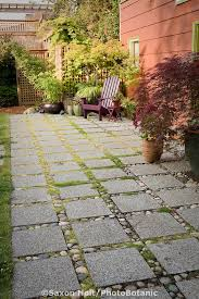 Water Drainage Problems In Backyard Permeable Patio With Concrete Aggregate Pavers For Water Drainage