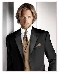 men medium length hairstyle side swept medium length hair with part korean male medium