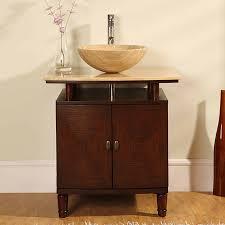 shop silkroad exclusive lydia dark chestnut single vessel sink