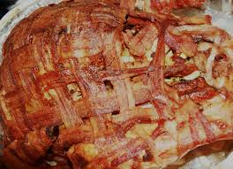 bacon wrapped thanksgiving turkey any kitchen will do