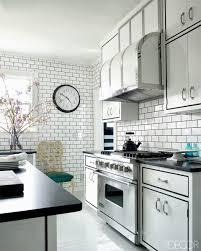 wonderful white backsplash kitchen with subway tile top design