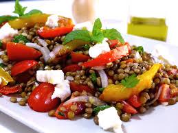greek lentil salad recipe with feta cheese 2 my greek dish