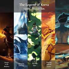 legend of korra legend of korra amon u0026 the lieutenant han dynasty style 8 5 x 11